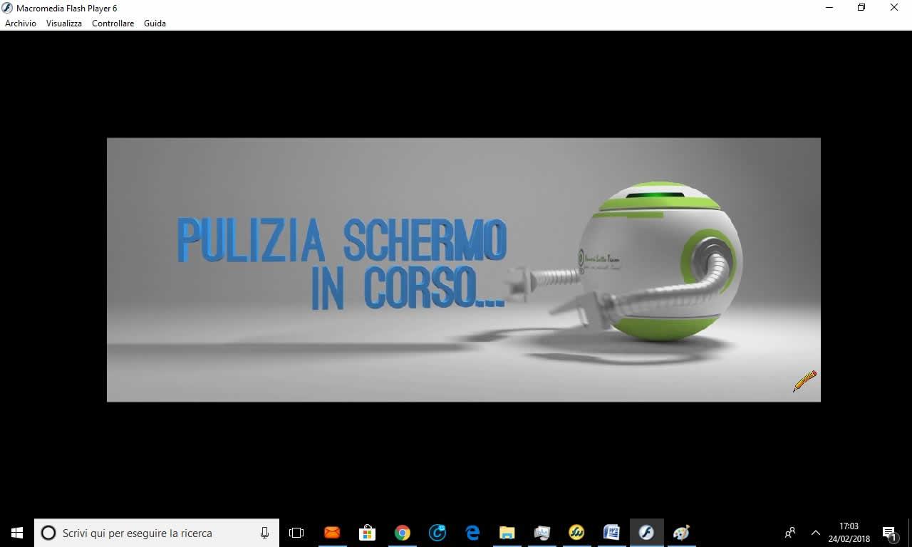 pulizia-schermo-in-corso-ok